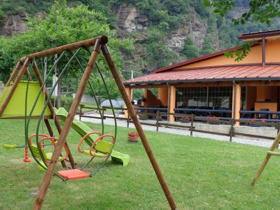 Tavagnasco, อิตาลี: il parco giochi
