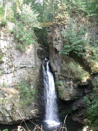 Wilczki Waterfall
