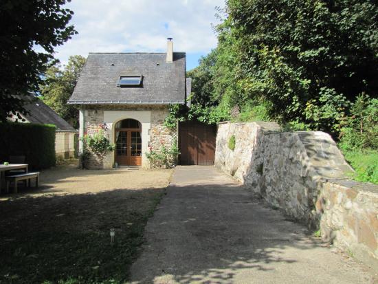 Domaine de Joreau: Lovely gite in Gennes, France