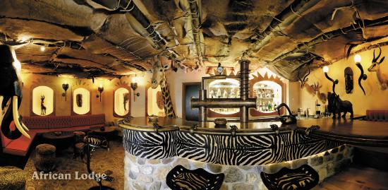 Mulheim an der Mosel, Germany: Hotelbar African Lodge