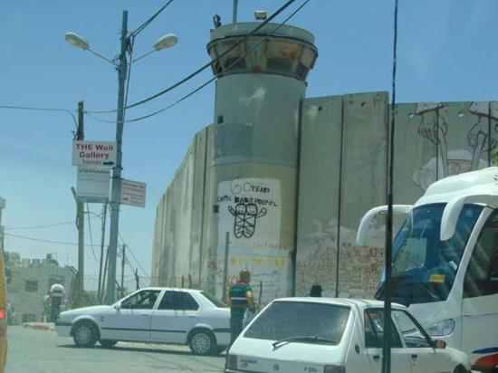 Barriera di Separazione Israeliana (Sperrmauer Westjordanland)