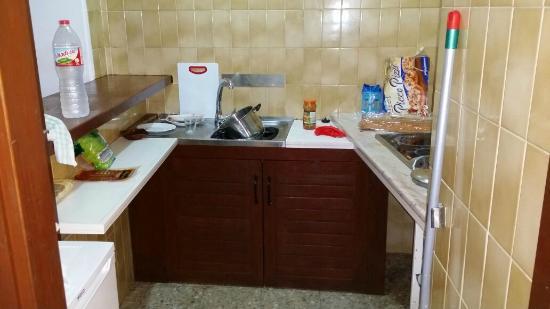 Apartamentos Mestret: angolo cucina