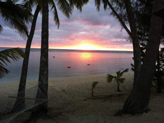 Sunhaven Beach Bungalows: view from our Bungalow