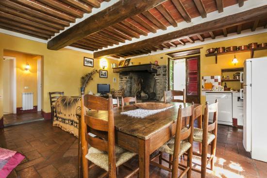 Azienda Fontelunga : dinning area casa fontelunga