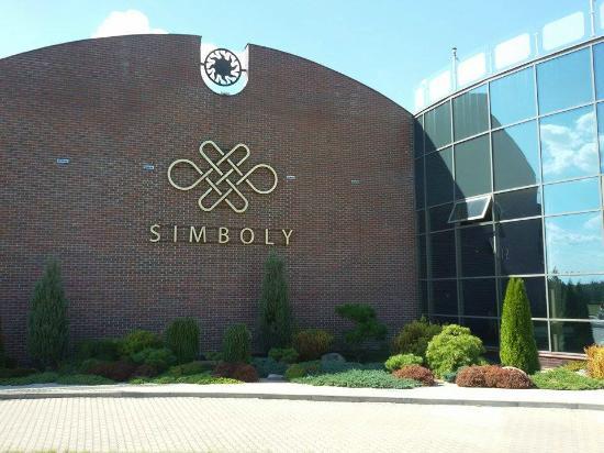 Hotel Simboly : Simboly hotel from the outside
