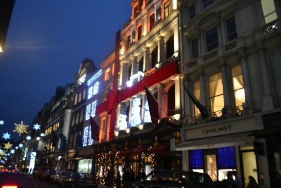 Decorazioni Natalizie Londra.Decorazioni Natalizie Foto Di Bond Street Londra Tripadvisor
