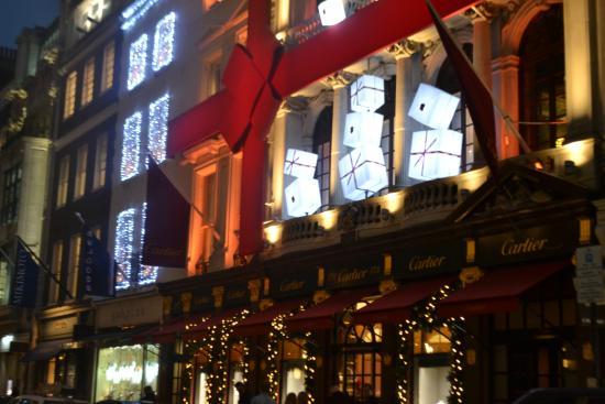 Decorazioni Natalizie Londra.Decorazioni Natalizie Carter Foto Di Bond Street Londra Tripadvisor