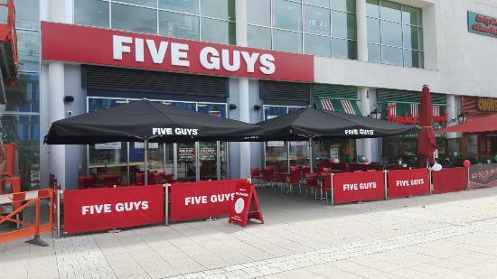 5 guys norwich