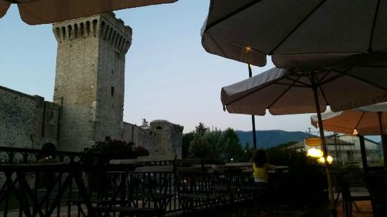 Osteria della Torre: vista