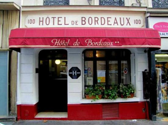 Hotel Bordeaux: Entrée de l'Hôtel