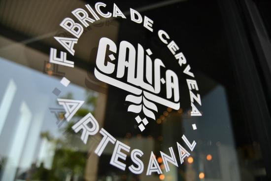 Cervezas Califa Brewery Vial