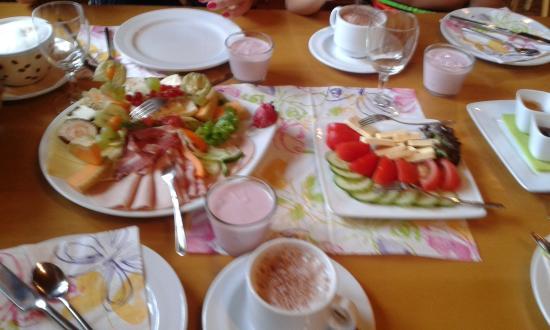 Gutach im Breisgau, Allemagne : desayuno