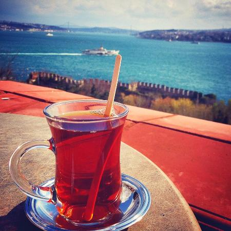 Real Istanbul Tours: View from cafe at Topkapi Palace...