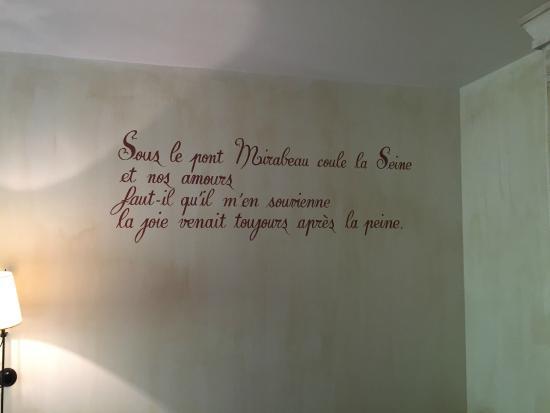 Domaine De Clairefontaine : la chambre