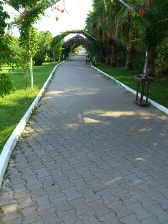 Sural Resort: Путь на пляж.