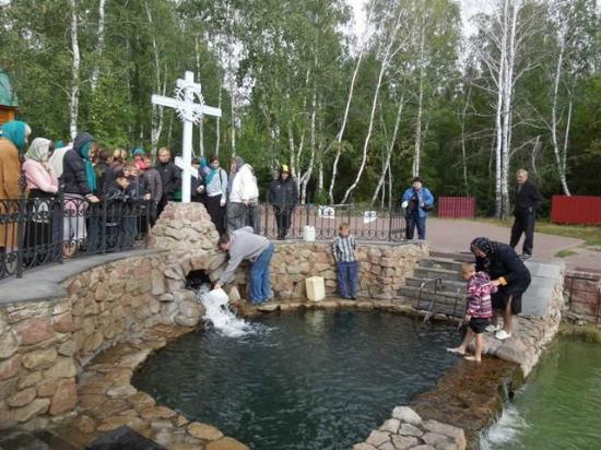 Achairsky Holy Cross Monastery: Купель