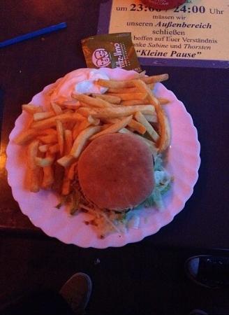 Kleine Pause: Great hamburger