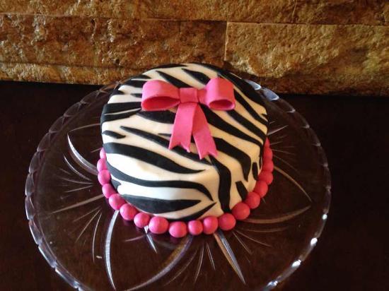 Superb Zebra Birthday Cake In Phuket Picture Of Baking Factory Phuket Birthday Cards Printable Inklcafe Filternl