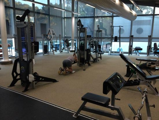 Ibis Sydney Olympic Park The Gym At Aquatic Centre Where Hotel Guests Can Use