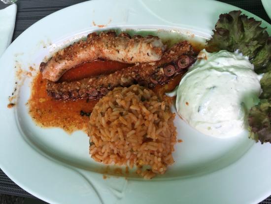 Gasthaus Freyung - Taverna bei Vassili: Kalamaris vom Grill
