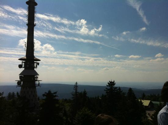 Warmensteinach, Deutschland: Blick vom Aussichtsturm