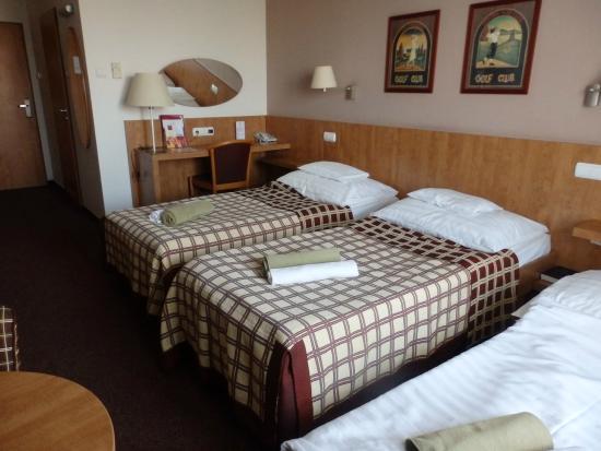 Room. Hotel Famulus.