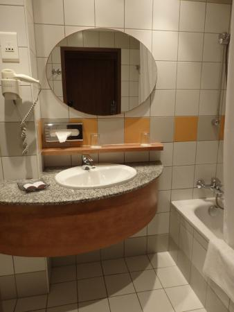 Toilette. Hotel Famulus