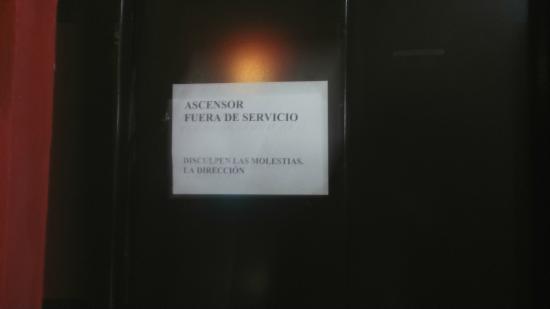 Alcazaba de Busquistar: Ascensor no disppnible