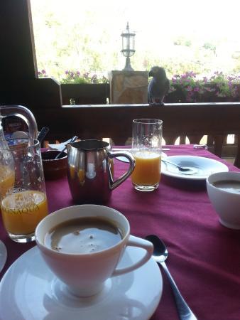 Mirador La Maliciosa: Завтрак