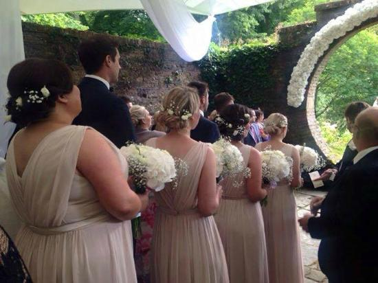 Wedding Ceremony In The Moon Garden Picture Of Drenagh