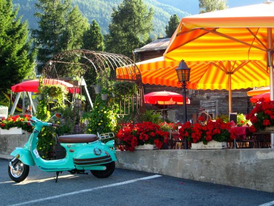Hotel-Restaurant Ronalp: Schöne Natursicht