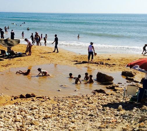 Hotel Villa Soleil : Plage Sidi Kaouki