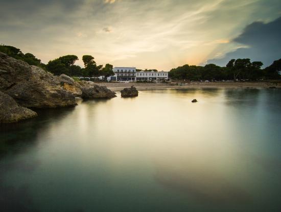 Hostal Spa Empuries: Panorámica hotel