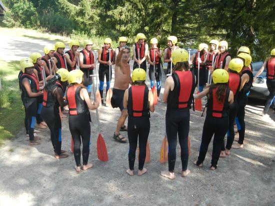 Vest-Agder, Noruega: Rafting : échauffement