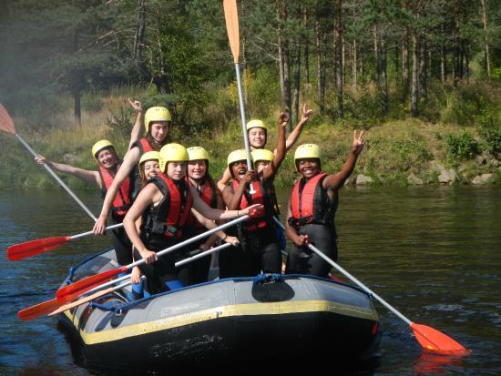 Vest-Agder, Noruega: Rafting : en bateau