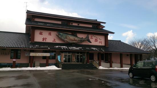 Iyoboya Kaikan: 博物館兼水族館です
