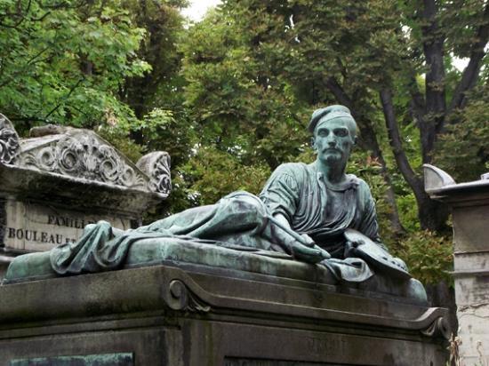 La tombe de g riacault picture of pere lachaise cemetery - Cimetiere pere la chaise ...