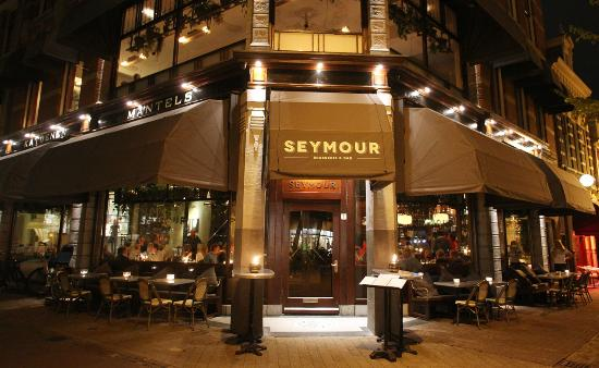 Photo of French Restaurant Seymour Brasserie & Bar at Korte Veerstraat 1, Haarlem 2011 CL, Netherlands