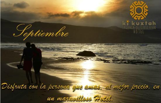 Hotel KiKuxtah: Obten especiales descuentos para el Mes de Amor y Amistad. !Reserva Ya!