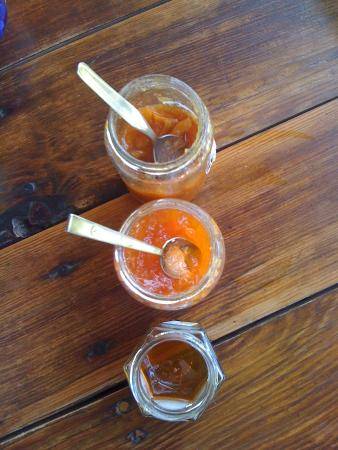 La Bergerie d'Acciola : Le marmellate di Nathalie