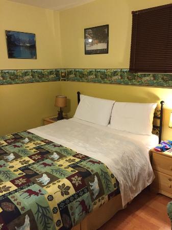 Silvern Lake Trail Bed & Breakfast : Zimmer mit Oblicht im Untergeschoss