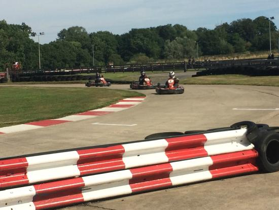 Whilton Mill Karting: Small Mill Track is too bumpy for Karting