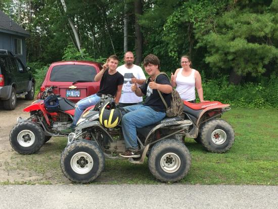 American Oak Resort: Great 4 Wheeling! Great Trails!