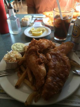 The Stretch Diner - FISH N CHIPS!!