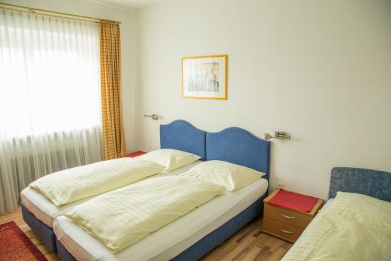 Hotel Lilienhof: Dreibettzimmer