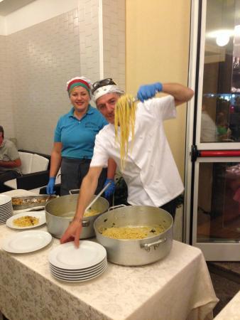 Hotel Clara : Spaghettata di Mezzanotte