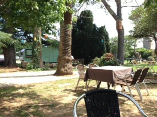 Ventallo, İspanya: Jardín