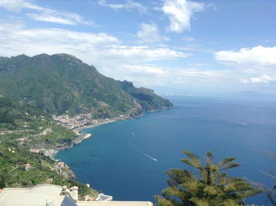 Villa Amore: Vista desde la terraza