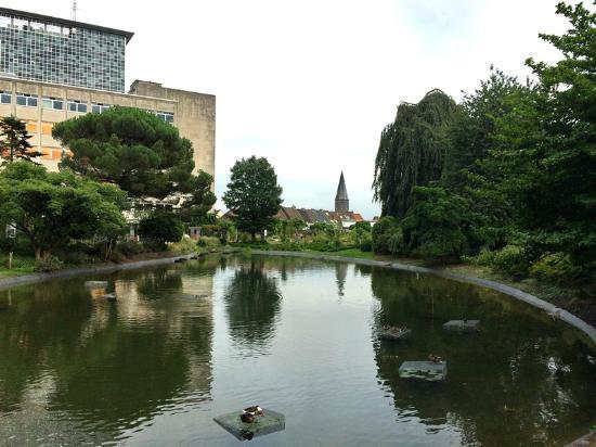 Ghent University Botanical Garden: Парк поддерживается с любовью и знаниями
