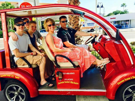 golf cartd picture of clearwater beach scooter and bike rentals rh tripadvisor co nz